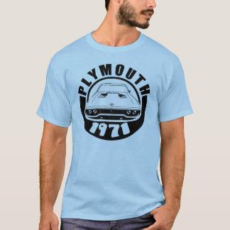 Satellit- skjorta 1971 för Plymouth Roadrunner T Shirts