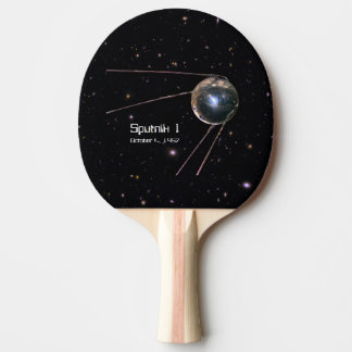 Satellit- Sputnik 1 jord Pingisracket