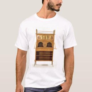 Satinwood som är kabinett med målade paneler, t shirt