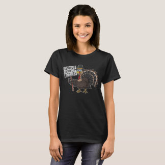 Satkäringar för kluckande för thanksgivingTurkiet T-shirt