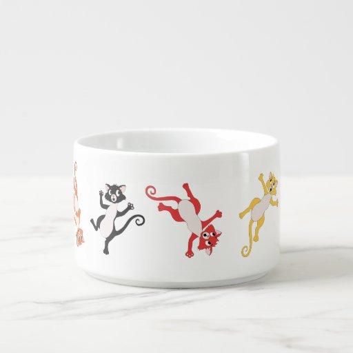Sats katt, kopp kopp för chili