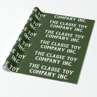 Satsen Leksak Företag Inc.Green - Presentpapper