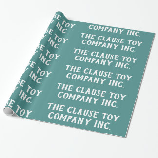 Satsen Leksak Företag Inc.Teal - Presentpapper