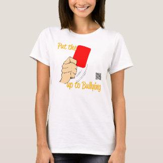 Sätt Det RÖDA KORTET upp till som trakasserar T Shirts