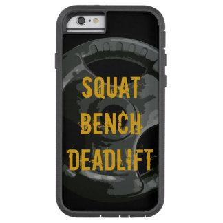 Satt ta av planet Deadlift det mobila fodral Tough Xtreme iPhone 6 Fodral