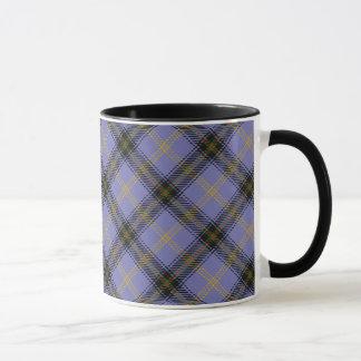 Sätta en klocka på den skotska klanTartanmuggen Mugg