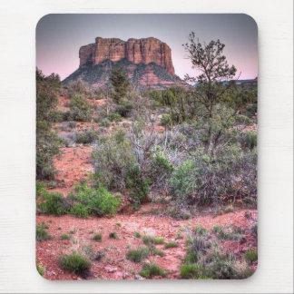 Sätta en klocka på sten Sedona, Arizona Musmatta