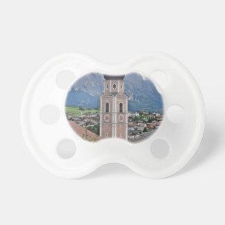Sätta en klocka på torn Castelrotto Nappar