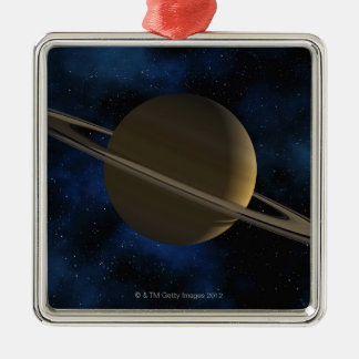 Saturn planet julgransprydnad metall