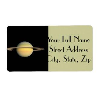 Saturn under dagjämning fraktsedel