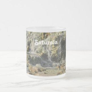 Saturnia naturliga Hot Springs Frostad Glasmugg