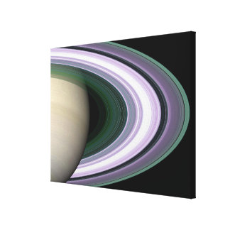 Saturns ringar canvastryck