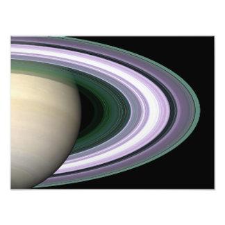 Saturns ringar fototryck