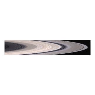 Saturns ringsystem fototryck