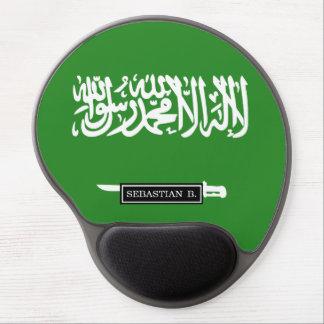 Saudiarabien flagga gel musmatta