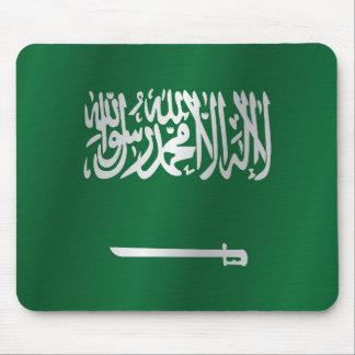 Saudiarabien flagga musmatta
