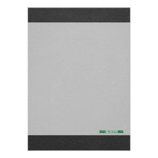 Saudiarabien flaggastilsort 12,7 x 17,8 cm inbjudningskort