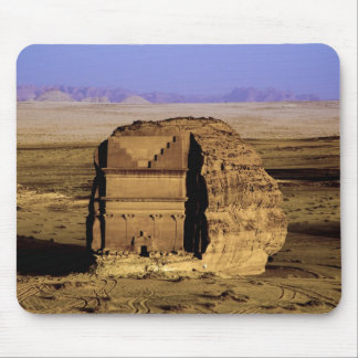 Saudiarabien plats av Madain Saleh som är forntida Musmatta