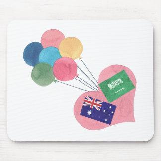saudier-australier mousepad mus mattor