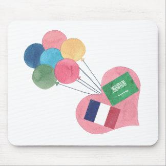 saudier-fransk mousepad musmatta