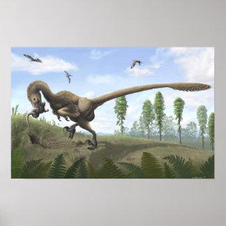 Saurornitholestes tryck