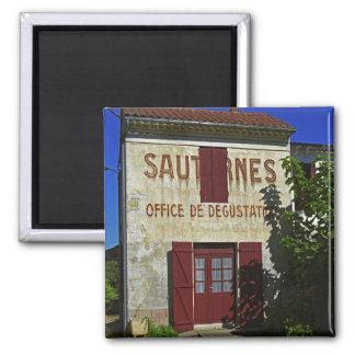 Sauternes Kontor de Degustation (vinavsmakning Magnet