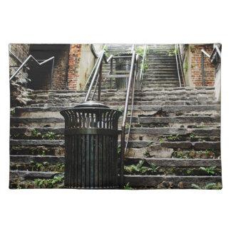 Savannah i city historiska Georgia Bordstablett