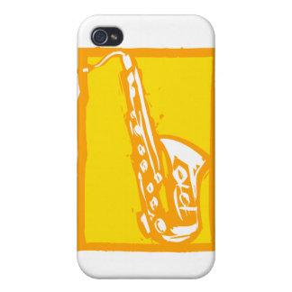 Saxofon iPhone 4 Cases