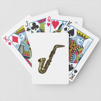 Saxofonen Spelkort