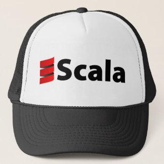 Scala hatt, svart logotyp keps