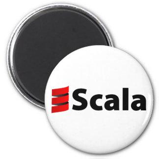 Scala magnet, Scala logotyp Magnet