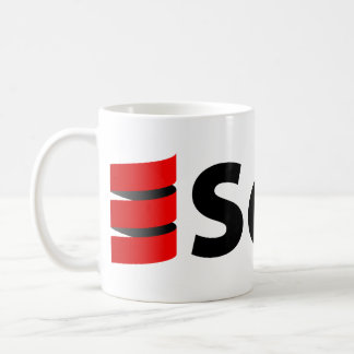 Scala mugg eller Stein, stor logotyp