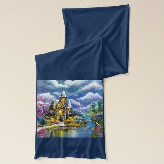 Scarf för fantasislottmode sjal
