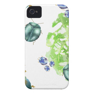 Scatterskalbagge iPhone 4 Case-Mate Case