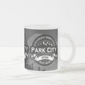 Scenisk mugg för Park City färg