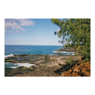 Sceniska Kauai -- vågrät Poster