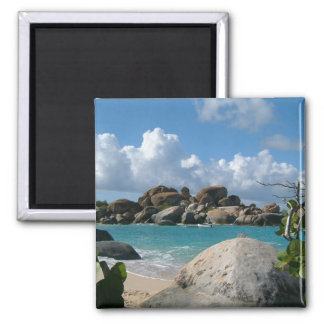 Sceniska Virgin Islands Magnet
