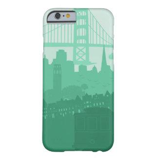 Sceniskt mobilt fodral för San Francisco Barely There iPhone 6 Skal
