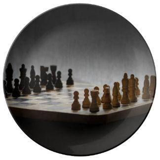 Schack Porslinstallrik