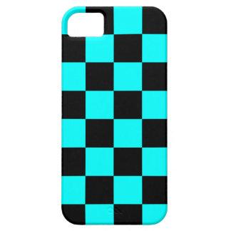 Schackbräde för neon för Corey tiger80-tal iPhone 5 Case-Mate Fodral
