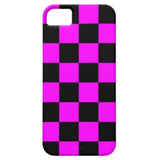 Schackbräde för neon för Corey tiger80-tal iPhone 5 Cases