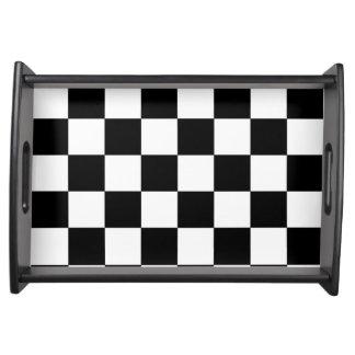 Schackbräde Serveringsbricka