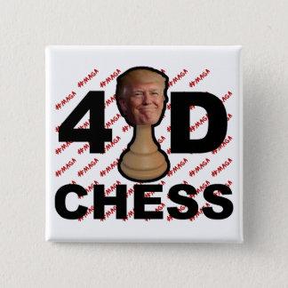 schacket 4D knäppas Standard Kanpp Fyrkantig 5.1 Cm
