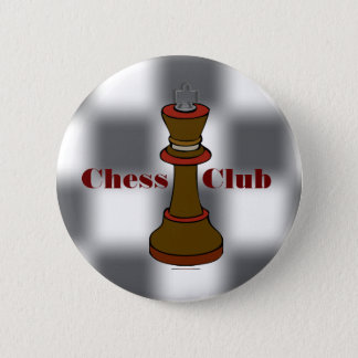 Schackklubben eller schacklaget knäppas standard knapp rund 5.7 cm