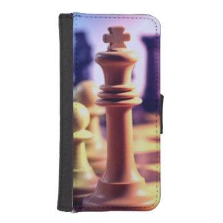 Schacklek iPhone SE/5/5s Plånboksfodral