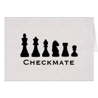 Schackmatt Hälsningskort