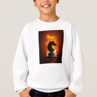 Schackriddaren flammar in tröja
