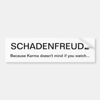 SCHADENFREUDE BILDEKAL