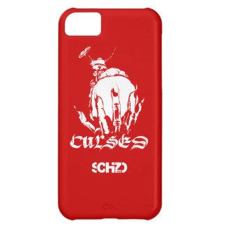 SCHiZO förbannar rött iPhone 5C Fodral