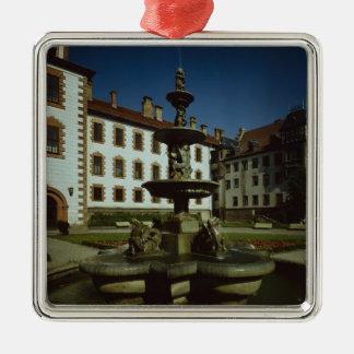 Schloss Elisabethenburg, Meiningen Julgransprydnad Metall